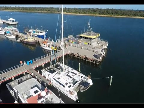 DJI Phantom 2 Drone Crashes Into Mast of Yacht, you wont beleive the recovery.
