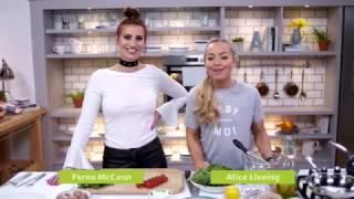 Be Tasty | Clean Eating Alice & Ferne McCann | Ultimate Breakfast Wrap Recipe | ITVBe
