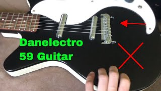 ✅ How To Use Danelectro 59 M-NOS Electric Guitar Review