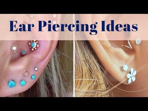 Ear Piercing Ideas - 200+ Earring Design Ideas For Men and Women