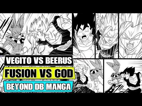 Beyond Dragon Ball Super: Vegito Vs Beerus! Vegito's Hidden Power Unleashed!