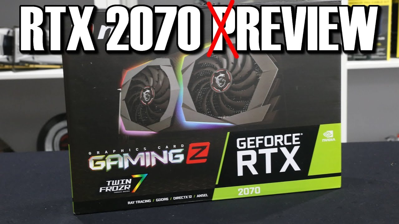 MSI RTX 2070 Armor Review | Conclusion | GPU & Displays