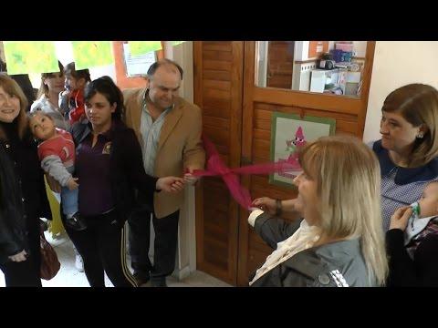 Se inauguró la sala maternal de la Escuela Secundaria Nº 11 de Barrio Norte