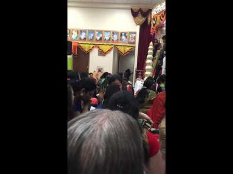 Tulsi Vivah at Swaminarayan temple Louisville Ky 2015