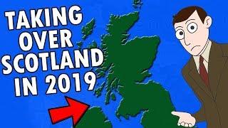 Englishman Takes Over Scotland IRL In 2019
