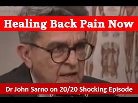 hqdefault - Mind Over Back Pain By John Sarno