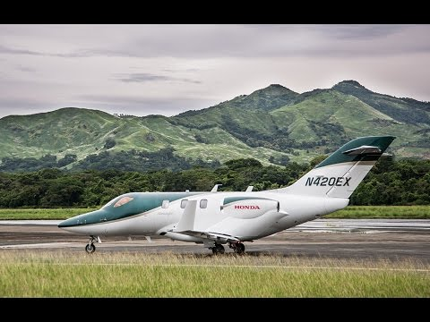 HondaJet Flight Demo