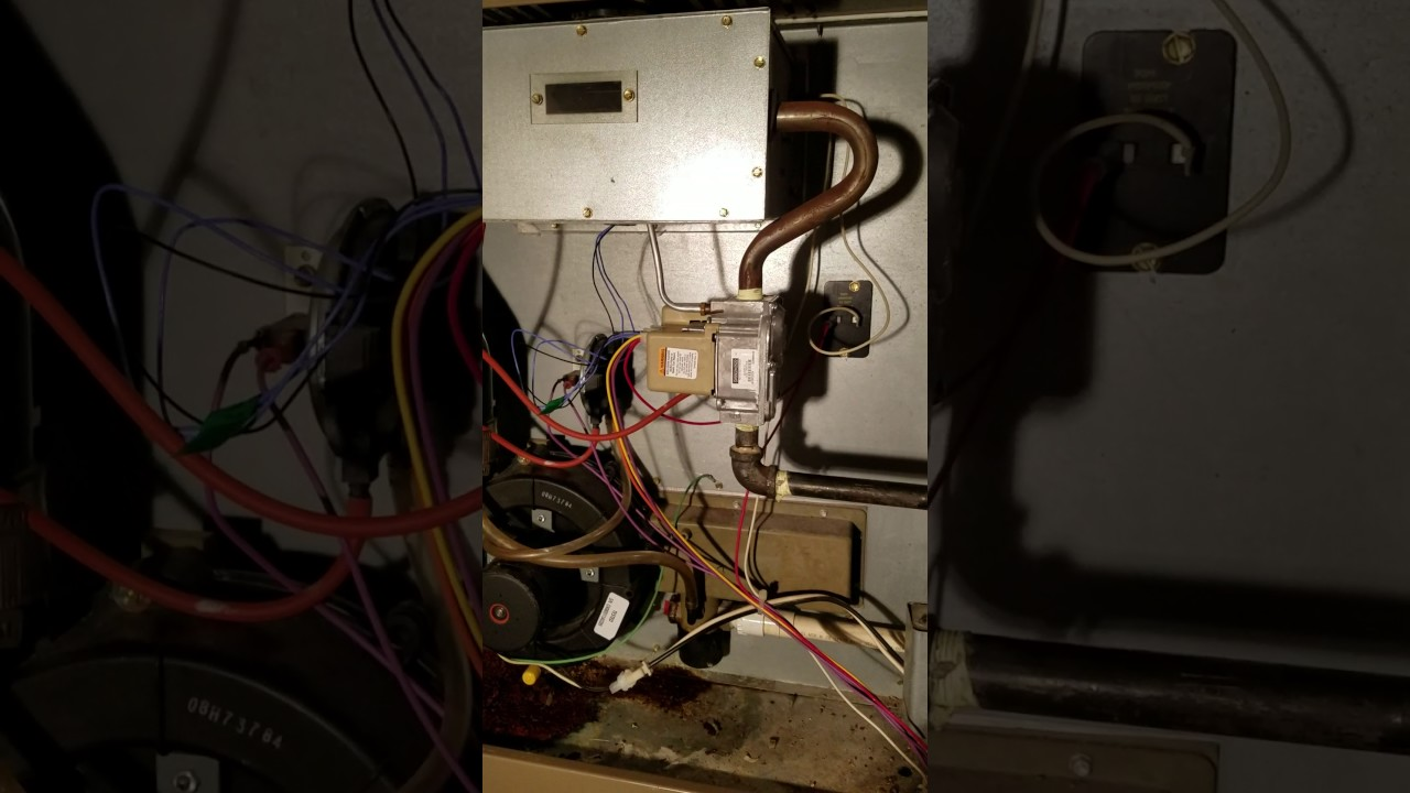 Armstrong Ultra Sx 90 Furnace Repair Youtube