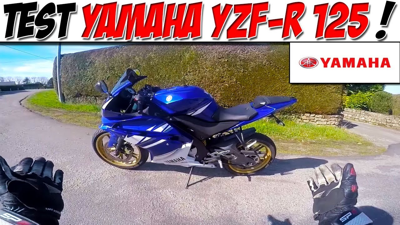 moto vlog 77 test yamaha yzf r 125 la meilleure 125 4 temps youtube. Black Bedroom Furniture Sets. Home Design Ideas