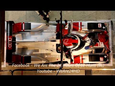Le Mans 2015 - Audi R18 Pit Stop