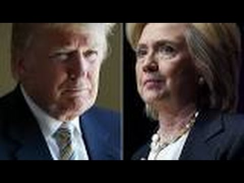 democratic primary election results  donald trump hillary clinton 18/5/2016
