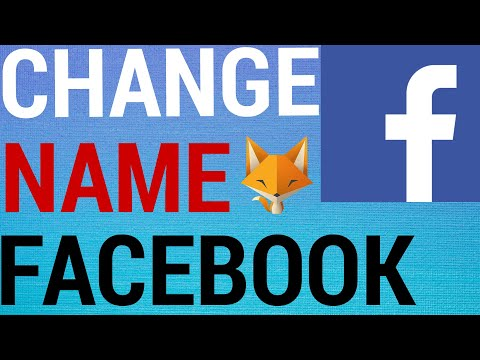 How To Change Your Name On Facebook! 2020