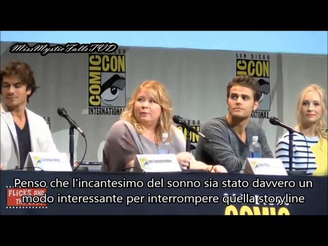 Vampire Diaries Comic-Con 2015 SUB ITA Part 1