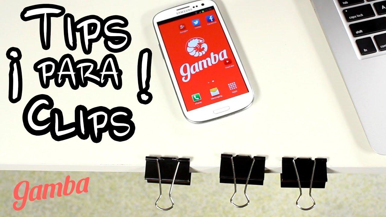 C mo reutilizar clips de oficina 1 ideas utiles youtube for Utiles de oficina