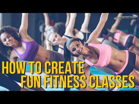 How to Create Fun Fitness Classes | Group Exercise Instructor