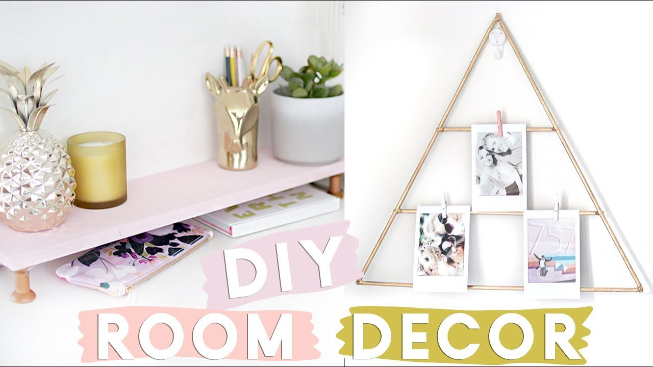 - DIY Organisational Room Decor Projects For Your Desk Desk Decor