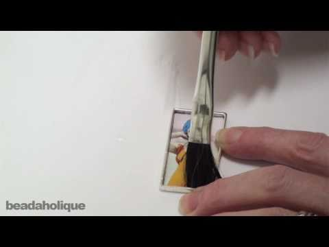 How to Prepare Images in Pendants for Resin Using Nunn Design Glue and Sealant