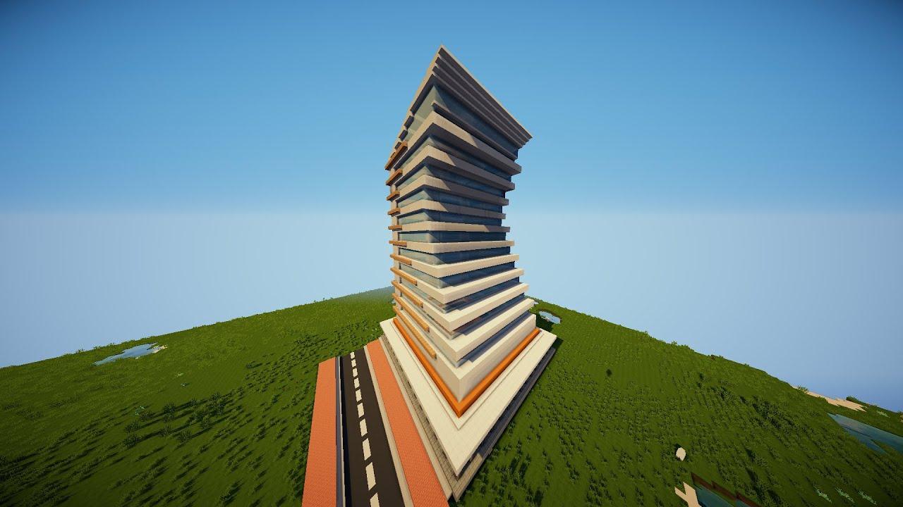 Minecraft hochhaus mit infecodi youtube - Minecraft hochhaus ...