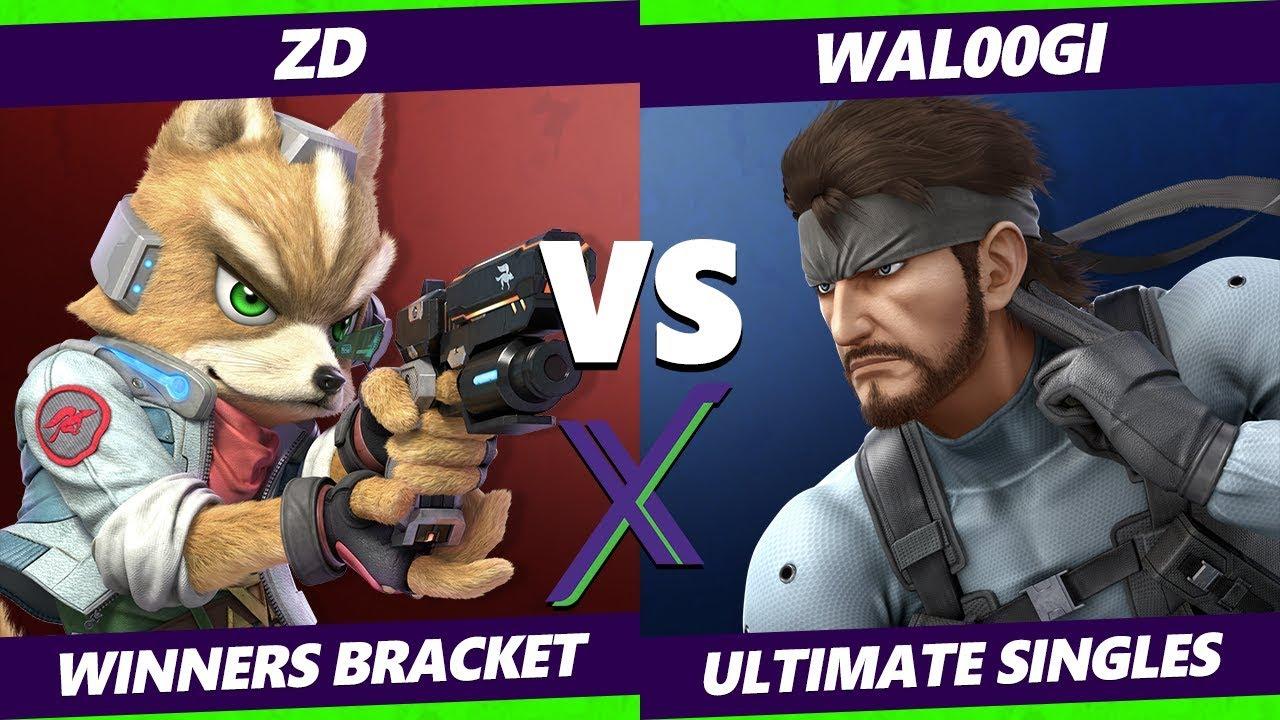 Smash Ultimate Tournament - ZD (Fox)  Vs. Wal00gi (Snake) - S@X 289 SSBU Winners Round 4