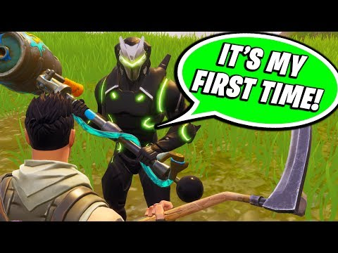 I FOUND THE WORST FAKE NOOB ON FORTNITE!! (HE HAS 400 WINS!)