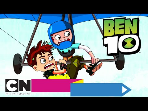 Бен 10   Перелётные дроны   Cartoon Network
