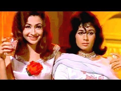 Pike Hum Tum Jo Chale - Helen, Nanda, Asha Bhosle, Usha, Gumnaam Song