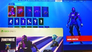 *NEW* $300 XBOX EXCLUSIVE SKIN IN FORTNITE! - Dark Vertex Skin (Fortnite Battle Royale)