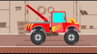 Tow Truck | Car Make Over | Toy Garage | Make Over Factory