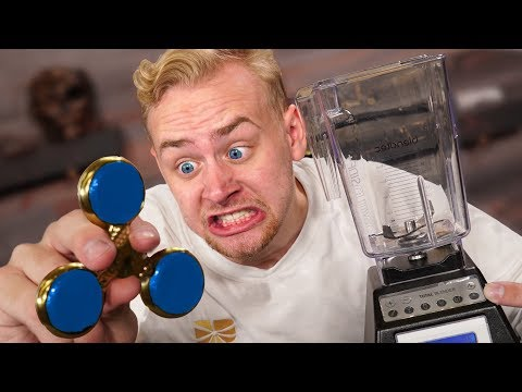 Thumbnail: Fidget Spinner VS Blender!