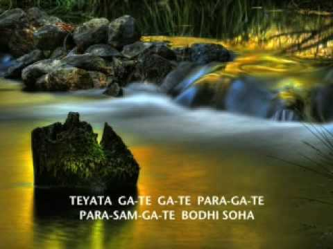Prajna Paramita Mantra (with words)