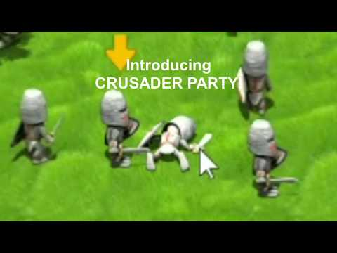 Crusader Party Gameplay Preview