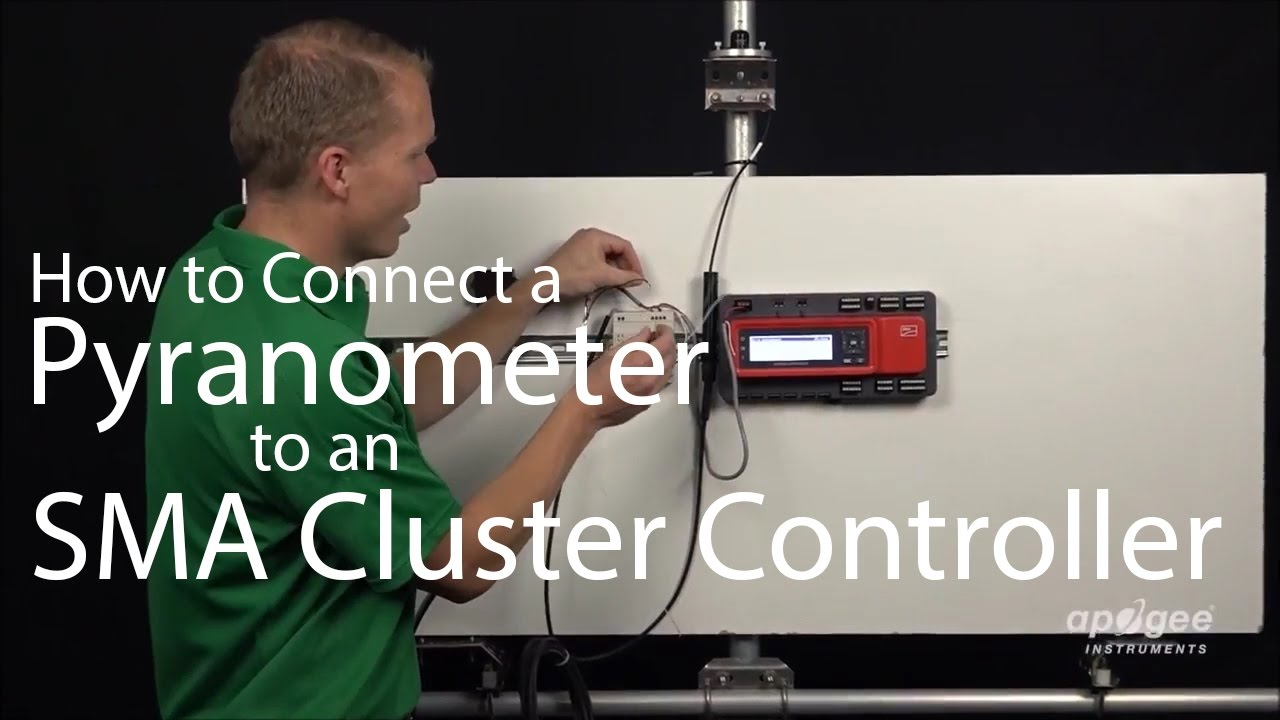 Download How To Connect a Pyranometer to an SMA Cluster Controller- SP-214 Pyranometer Apogee Instruments