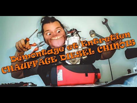 Démontage Et Entretien CHAUFFAGE DIESEL CHINOIS