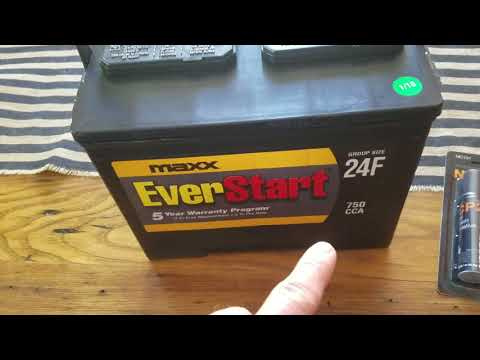 Maxx EverStart 24F Car Battery- Specs, Overview, And First Look