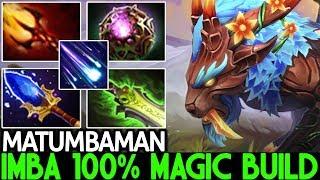 MATUMBAMAN [Mirana] Imba 100% Magic Build One Shot Kill 7.24 Dota 2