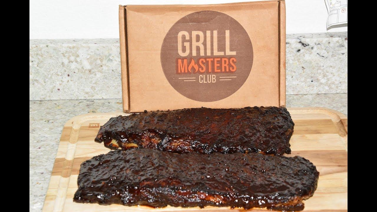 Masterbuilt Electric Smoker Bbq Pork Ribs Hickory Smoked St Louis