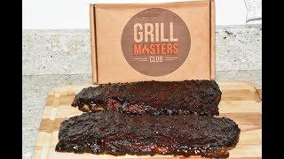Masterbuilt Electric Smoker BBQ Pork Ribs - Hickory Smoked St. Louis Ribs