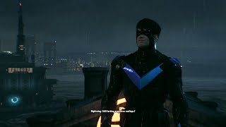 Batman Arkham Knight   PS4, PART 12,Rescue Oracle, Firefly, Nightwing
