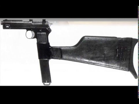 World War 1 Weapons: Machine Pistols