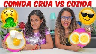 COMIDA CRUA VS COZIDA - JULIANA BALTAR
