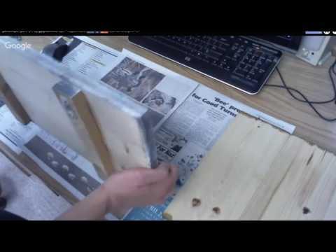 Деревянное панно на стену.  Старые техники на новый лад.  Светлана Шамшина