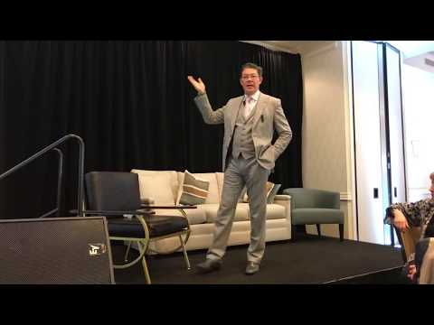 Christophe Choo as the featured speaker at AREAA Greater Denver Colorado Luxury Real Estate Summit