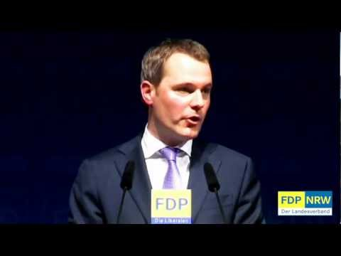 FDP-NRW Neujahrsempfang 2012 - Daniel Bahr MdB