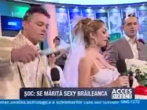 Sexy Braileanca se marita