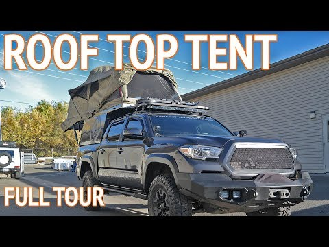 Tacoma Truck Roof Top Tent | Overland Truck Camper Mp3