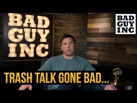 Can trash talk go too far?
