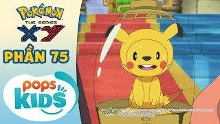 Tổng Hợp Hành Trình Thu Phục Pokémon Của Satoshi - Hoạt Hình Pokémon Tiếng Việt S18 XY - Phần 75