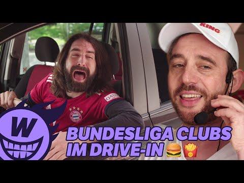 Bundesliga-Clubs im Drive-In