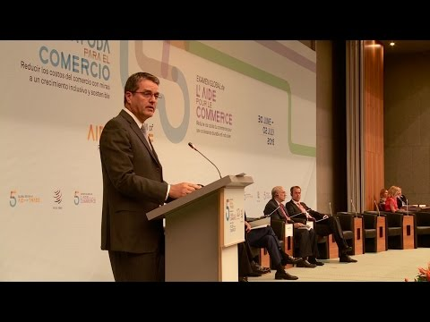 DG Azevêdo's speech on Aid for Trade