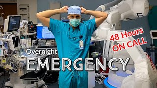 REAL Day in The Life of a DOCTOR - ON CALL EMERGENCY